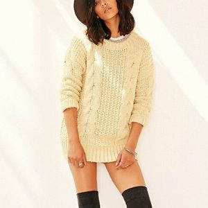 Urban Outfitters x Unif cable knit chunky sweater